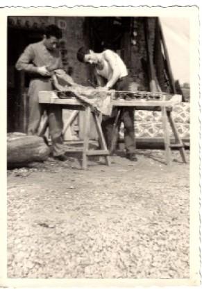 bottega del falegname in Rocca