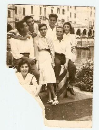gita al lago di Garda (1956)