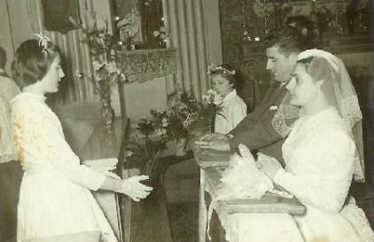 matrimonio di Carlo Meschi e Vilma Chierici (anni 60)