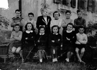 scuola di Fornio (anni '50)
