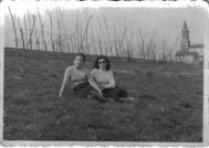 ragazze e chiesa (anni '50)