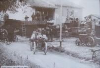 Dintorni - partenza delle trebbiatrici a Rimale (1928)