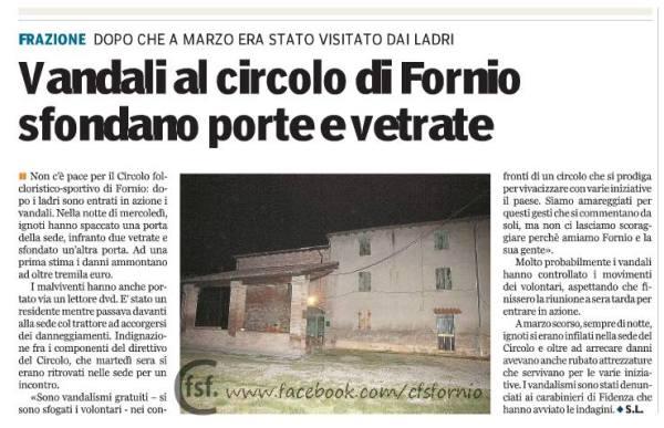 Gazzetta di Parma del 13 Giugno 2014