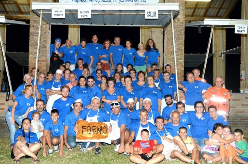 I volontari della Sagra di San Lorenzo 2014